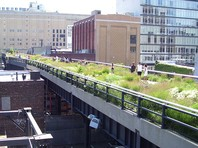 The High Line park, New York